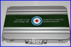 1 oz Silver Coin Aircraft of First World War Sopwith Triplane + Collector Case