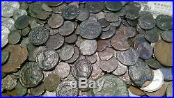 100 Old US Coin Lot From Old Estate Hoard! & World Coins GOLD SILVER Roman