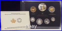 100th Anniversary Declaration First World War 1914-2014 Silver Proof 7-Coins Set