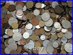1800s-1900s World Lot of 75 Coins with VF, EF & BU-AU & Key Dates-Lot #1