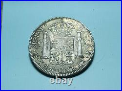 1803 Mexico 8 REALES Mo FT CAROLUS IIII SILVER WORLD COIN Stunning