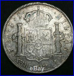 1803 PJ Bolivia 8 Reale Spanish Milled Bust US First Silver Dollar World Coin