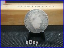 1813 I France 5 Francs Napoleon World Silver Coin