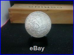 1921 Mexico Silver Dos Pesos World Silver Coin