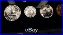 1945-d World War 2 Era Us Silver Mint Set Choice To Gem Bu Coins Look