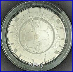 1966 FIFA World Cup 2016 UK £5 Silver Proof Coin