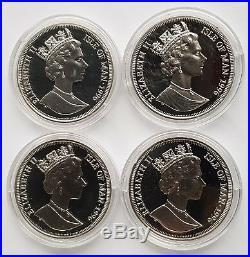 1996 Pobjoy Mint Worlds First Robert Burns Coins 4 Silver Proof Crown Set 9