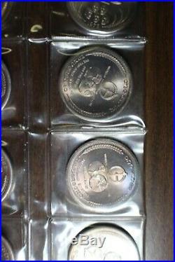 20-1972 One Troy Oz. 999 Fine Silver Universaro World Trade Round Coin