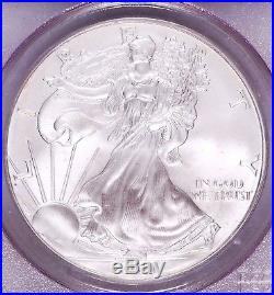 2000 WTC Silver Eagle Recovery PCGS World Trade Center Gem (MS65) (#024)