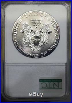 2001 & 2014 Recovery Silver Eagle Dollar Set World Trade Center NTC