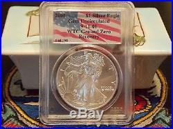 2001 Gold & Silver Eagle RARE 1 of 150 complete set WTC World Trade Center 911