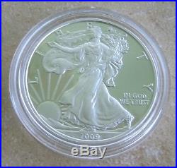 2009 Silver Eagle Proof DC Overstrike Proofed With Coin World News For Posterity