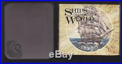2012 Tuvalu Ships That Changed The World CUTTY SARK 1885 1oz Silver Proof Coin