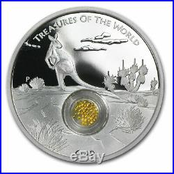 2014 Australia 1 oz Silver Treasures of the World Locket SKU #82719