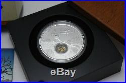 2014 Treasures of the World Australia Locket Coin 1oz Silver Proof Perth Mint