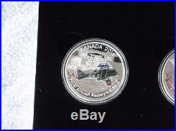 2016 Canada Aircraft of the First World War 3 Coin $20 Silver Proof Set