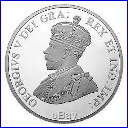 2017 CANADA WORLD WAR 1 BATTLE OF VIMY RIDGE FRANCE 10 oz. PURE SILVER COIN