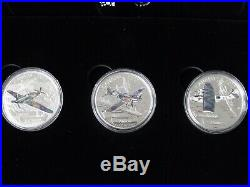 2017 Canada Aircraft of the Second World War 3 Coin $20 Silver Proof Set