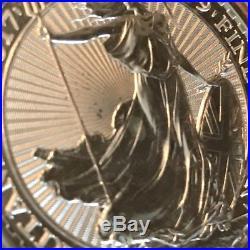 2017 Panda Kangaroo Maple Leaf Britannia 1 oz Silver Lot of 4 World Coins