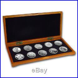 2018 10-Coin Silver 1 oz Around the World Bullion Set SKU#162301