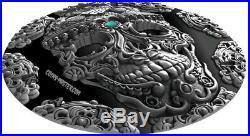 2018 2 Oz Silver Cameroon 2000 Francs KAPALA, World Cultures Coin