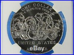 2018 P World War I Centennial Silver Dollar 2-Coin Set NGC Pf/Ms 70 ER