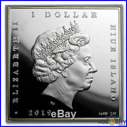 2019 1 oz Niue Scream Edvard Munch Treasures of World Painting Proof Silver Coin