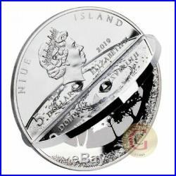 2019 2 Oz Silver $5 Niue CREATION WORLD Coin, PRESALE