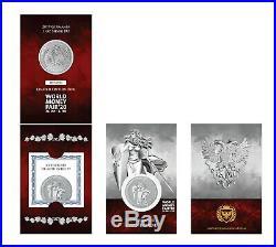 2019 Germania 1 oz. Silver Coin BU World Money Fair Coin