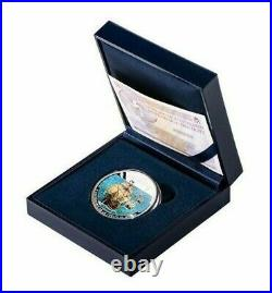 2019 Spain 10 Euro 27gram Silver Coin, 500th Anniv of Circumnavigation of World