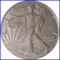 2020 1 oz American Silver Eagle 75th ANN of the END OF SECOND WORLD WAR PROOF