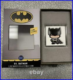 2020 Batman Chibi Coin DC Comics Series 1oz Silver Only 2000 Minted World Wide