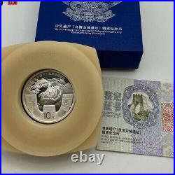 2020 China 10YUAN Silver coin World HeritageLiangzhu ancient city site coin 30g