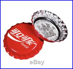2020 Coca-Cola Bottle Cap Coin 6 Gram Silver China Global Edition First
