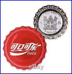 2020 Coca-Cola Bottle Cap Coin 6 Gram Silver China & Israel Global Editions