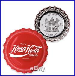 2020 Coca-Cola Bottle Cap Coin 6 Gram Silver Russia Global Edition Russian