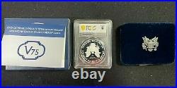 2020 End of WW2 World War II 75th Anniversary American Eagle Silver Coin PR70