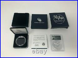 2020 End of World War 2 II 75th Anniversary Silver Medal Eagle PCGS PF69DCAM