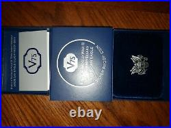 2020 End of World War II 75th Anniversary American Eagle Silver Proof Coin