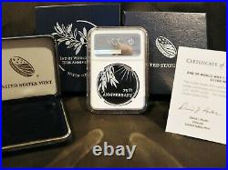 2020 End of World War II V75 NGC Silver Medal PF69 Ultra Cameo