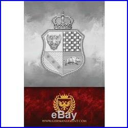2020 GERMANIA 2020 WMF WORLD MONEY FAIR EDITION 1 oz Pure Silver BU