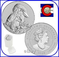2020 Kookaburra & Baby Australia 2 oz Silver-Roll/Tube 10 Coins-Next Generation