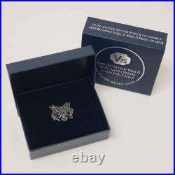 2020 W American 1oz Silver Eagle $1 Dollar World War II An Proof Coin VF-WW22008