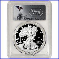 2020 W American Silver Eagle Proof V75 End World War II PCGS PR69 First Strike