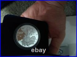 2020-W American Silver Eagle Proof V75 Privy End of World War II