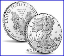 2020-W End of World War II 75th Anniversary American Eagle Silver Proof Coin V75