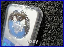 2020 W Proof Silver Eagle World War II V75 Privy NGC PF70 ULTRA CAMEO & OGP