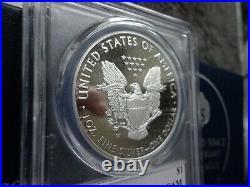 2020 W Proof Silver Eagle World War II V75 Privy PCGS PR70 GOLD SHIELD DCAM OGP