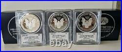 2020W End of World War II 75th Anniversary American Eagle Silver Proof PCGS PR70