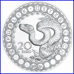 2021 Australia -The Serpent Creator Silver Coin Eyes of the World
